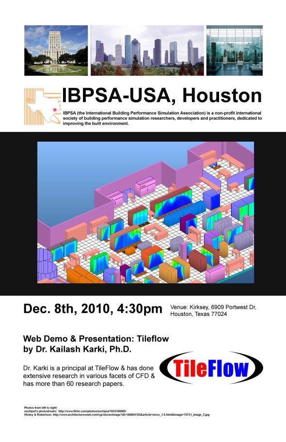 IBPSA-USA Houston December Meeting
