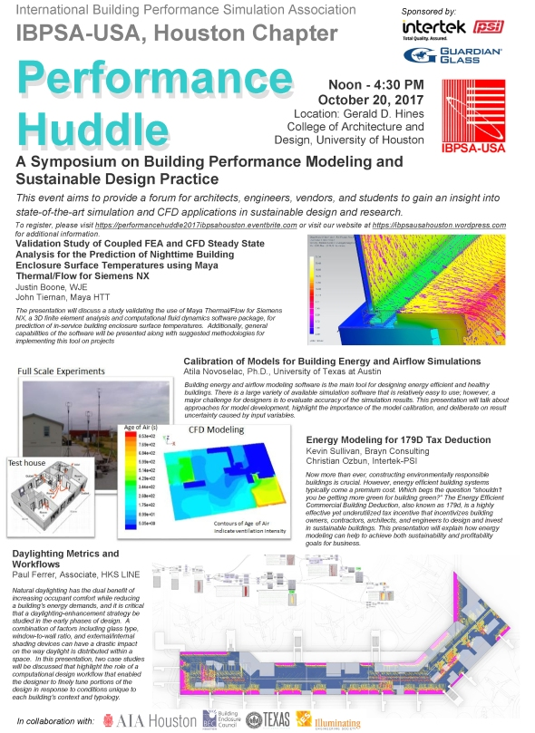 Performance Huddle Flyer
